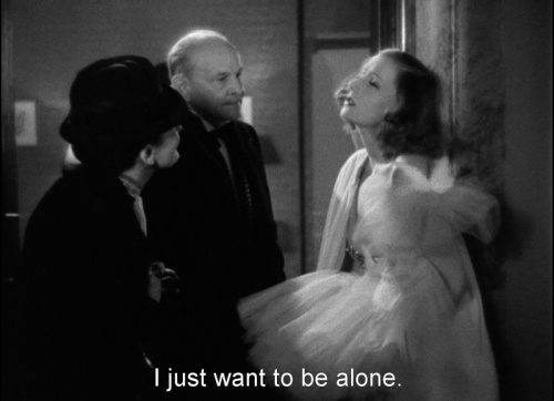Image result for i want to be alone greta garbo