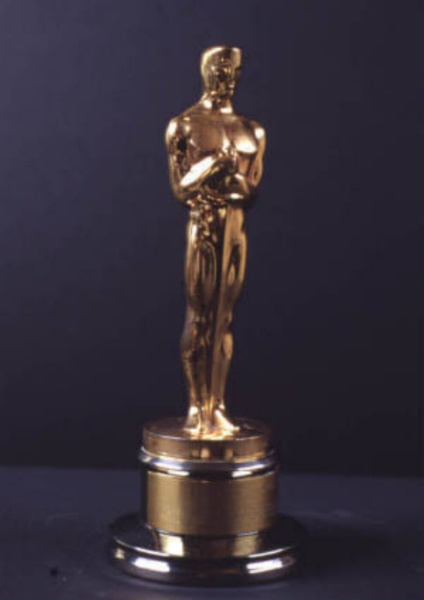 Movie Award Trophy on oscar nom list