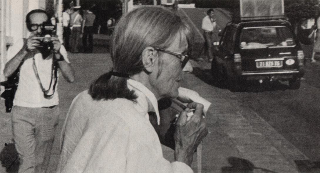 Greta garbo press articles paris match 1980 for Greta garbo morte